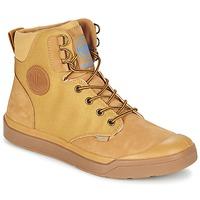 Topánky Muži Polokozačky Palladium PALLARUE WP Svetlá hnedá medová