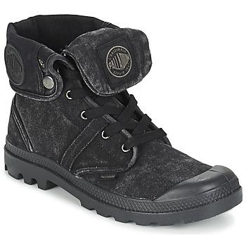 Topánky Muži Polokozačky Palladium US BAGGY čierna / Metalická