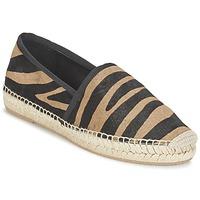 Topánky Ženy Espadrilky Marc Jacobs SIENNA čierna / ťavia hnedá