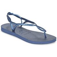 Topánky Ženy Žabky Havaianas LUNA Modrá / Námornícka modrá