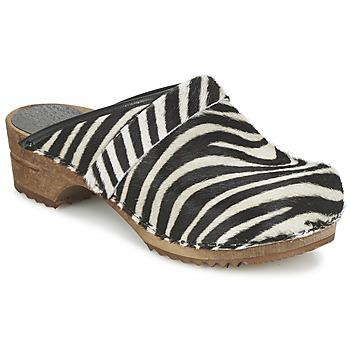 Topánky Ženy Nazuvky Sanita CAROLINE Zebra
