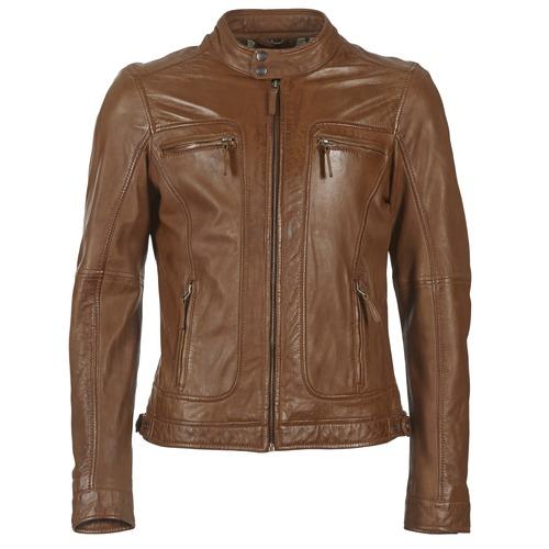 Oblečenie Muži Kožené bundy a syntetické bundy Oakwood 60901 Koňaková