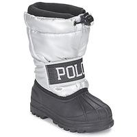 Topánky Dievčatá Obuv do snehu Ralph Lauren JAKSON Strieborná / čierna