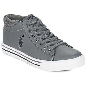 Topánky Chlapci Členkové tenisky Ralph Lauren HARRISON MID šedá