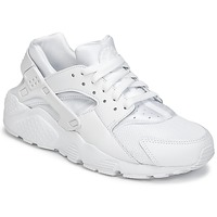 Topánky Chlapci Nízke tenisky Nike HUARACHE RUN JUNIOR Biela