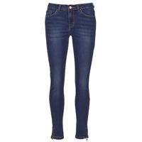 Oblečenie Ženy Džínsy Slim Yurban FOLDINE Modrá