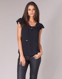 Oblečenie Ženy Blúzky Moony Mood IFADOU Čierna