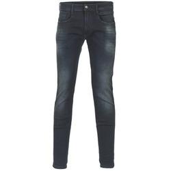 Oblečenie Muži Džínsy Slim Replay ANBASS Modrá