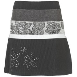 Oblečenie Ženy Sukňa Desigual REVUNE čierna / šedá