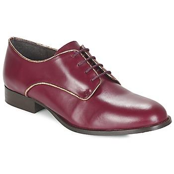 Topánky Ženy Derbie Betty London FLOJE Bordová
