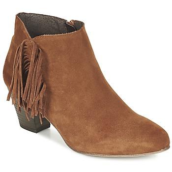 Topánky Ženy Čižmičky Betty London FIANIDE Oriešková