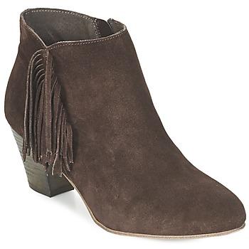 Topánky Ženy Čižmičky Betty London FIANIDE Hnedá