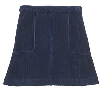 Oblečenie Ženy Sukňa Kookaï BIRKIN VELOURS Námornícka modrá