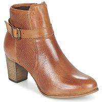 Topánky Ženy Čižmičky Betty London FAZELLE ťavia hnedá