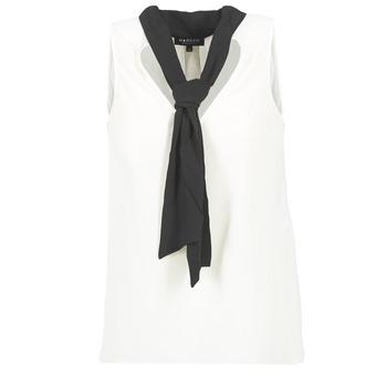 Oblečenie Ženy Blúzky Morgan OREA Biela / Čierna