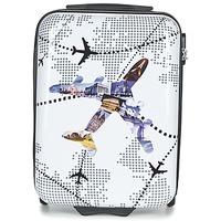 Tašky Pevné cestovné kufre David Jones OUSKILE 36L Viacfarebná