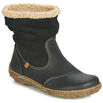 Topánky Ženy Polokozačky El Naturalista NIDO Čierna
