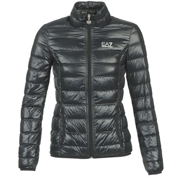 Oblečenie Ženy Vyteplené bundy Emporio Armani EA7 OPIAKO Čierna