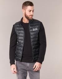 Oblečenie Muži Vyteplené bundy Emporio Armani EA7 ONAFRATO Čierna