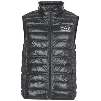 Oblečenie Muži Páperové bundy Emporio Armani EA7 ONAFRATO čierna