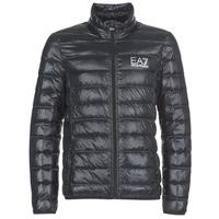 Oblečenie Muži Páperové bundy Emporio Armani EA7 JAFOUKARO čierna