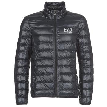 Oblečenie Muži Vyteplené bundy Emporio Armani EA7 JAFOUKARO Čierna
