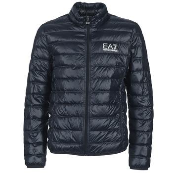 Oblečenie Muži Vyteplené bundy Emporio Armani EA7 JAFOUKARO Námornícka modrá