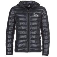 Oblečenie Muži Vyteplené bundy Emporio Armani EA7 ANDOURALO Čierna