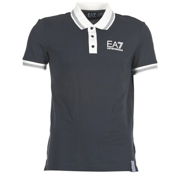 Oblečenie Muži Polokošele s krátkym rukávom Emporio Armani EA7 OKOLAMI Námornícka modrá