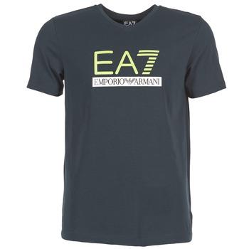 Oblečenie Muži Tričká s krátkym rukávom Emporio Armani EA7 JANTLOA Námornícka modrá