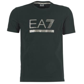 Oblečenie Muži Tričká s krátkym rukávom Emporio Armani EA7 MAGGAROL čierna