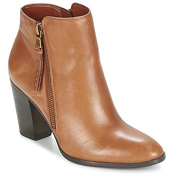 Topánky Ženy Nízke čižmy Ralph Lauren FAHARI Koňaková