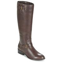 Topánky Ženy Čižmy do mesta Ralph Lauren MARRONA Hnedá