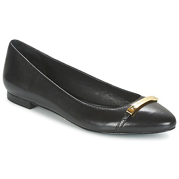Topánky Ženy Balerínky a babies Ralph Lauren FARREL-FLATS-CASUAL čierna