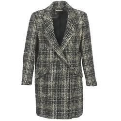Oblečenie Ženy Kabáty Naf Naf ADOUCE Šedá