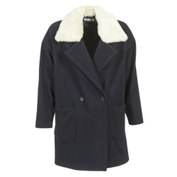 Oblečenie Ženy Kabáty Naf Naf AVINA Námornícka modrá