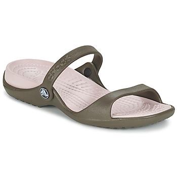 Topánky Ženy Sandále Crocs Cleo čokoládová / Cotton / Candy