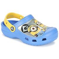 Topánky Deti Nazuvky Crocs CC Minions Clog Modrá / Žltá