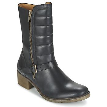 Topánky Ženy Polokozačky Kickers MILLIER čierna