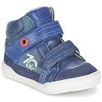 Topánky Chlapci Členkové tenisky Kickers JINJINU Modrá