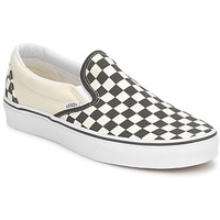 Topánky Slip-on Vans CLASSIC SLIP ON Čierna / Biela