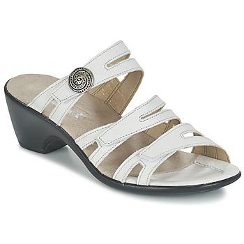 Topánky Ženy Šľapky Romika Gorda 01 Biela
