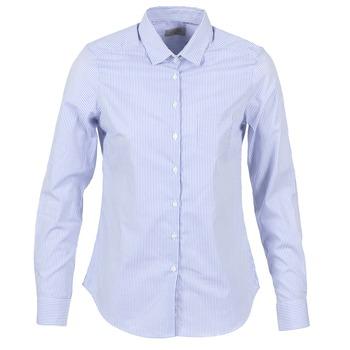 Oblečenie Ženy Košele a blúzky Casual Attitude FANFAN Biela / Modrá