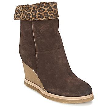 Topánky Ženy Čižmičky Vic VANCOVER GUEPARDO Hnedá / Leopard