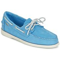 Topánky Muži Mokasíny Sebago DOCKSIDES Modrá