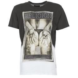 Oblečenie Muži Tričká s krátkym rukávom Religion GRABBING Biela / čierna
