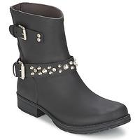 Topánky Ženy Polokozačky Colors of California JAMBO Čierna