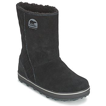 Topánky Ženy Obuv do snehu Sorel GLACY čierna
