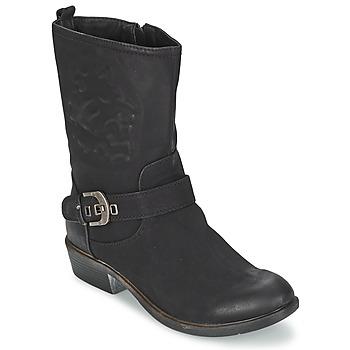 Topánky Ženy Polokozačky Spot on GANIA čierna