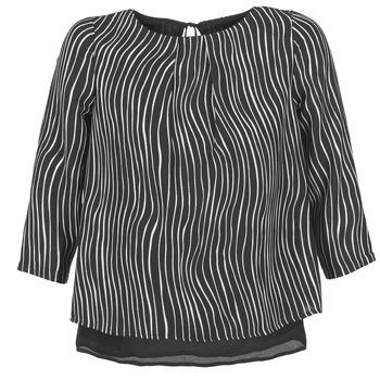 Oblečenie Ženy Blúzky Betty London FADILIA čierna / Biela
